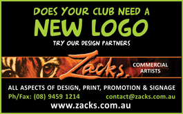 Zacks New Logo Advert
